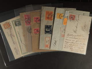 Sweden. Collection cancellations W-county. Postal items 1880–1920s, incl. e.g. registered, …