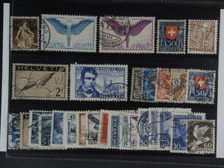 Switzerland. Used 1914-35. All different, e.g. Mi 127, 189x, 191x, 212, 245x, 249,. …