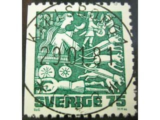 Sweden. Facit 1153B used , 1981 Nordic Mythology 15 öre red-carmine. EXCELLENT …