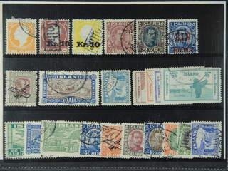 Iceland. Used 1911–348. All different, e.g. F 113, 122-23v, 154, 156, 159, 161, 169v1, …
