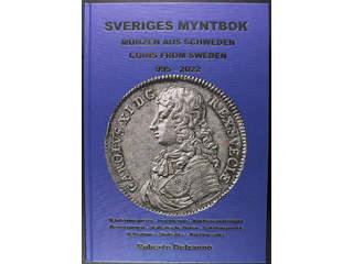 'Sveriges Myntbok 995–2022 Del 1+2'. Robert Delzanno, 1326 pages, 5,7 kg, 795 SEK + postage