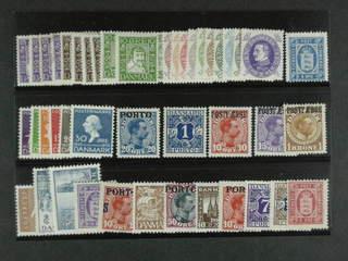 Denmark. ★ 1920–36. Alla olika, t.ex. F201–12 utom 204, 246–55, 267–72, Tj18, L5, L23, …