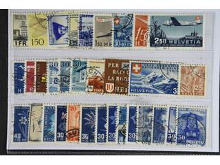 Switzerland. Used 1934-49. All different, e.g. Mi 224, 362, 394, 434, 438, 463, 470, …