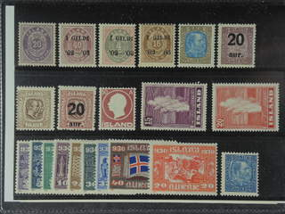Iceland. ★★ 1876-1937. All different, e.g. F 14, 42, 50, 54, 74, 83, 100, 106, 117, 178, …