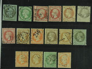 France. Used 1853–1862. All different, e.g. Mi 10-11, 16, 23, 25-26, and 31. Mostly good …