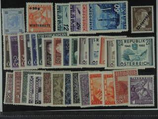 Austria. ★ 1899-1955. All different, e.g. Mi 76, 616, 623-26, 632-37, A IV, 929-32, …