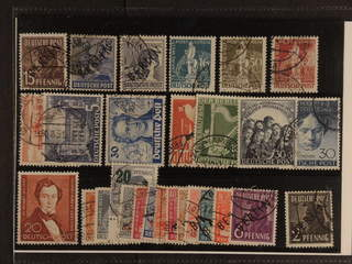 Germany Berlin. Used 1948–52. All different, e.g. Mi6, 13, 15, 36, 38–39, 59–60, 63, …
