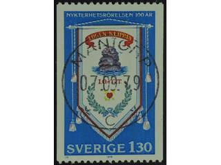 Sweden. Facit 1089 used , 1979 Temperance Movement 1.30 Kr multicoloured. EXCELLENT …