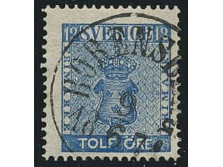 Sweden. E county. BORENSBERG 9.6.1871, circle cancellation. Postal:400:-