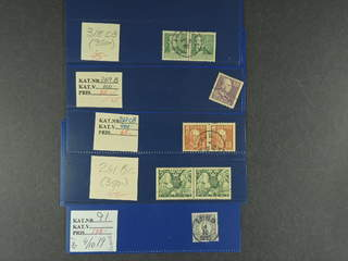 Sweden. Lot used. Cancellations, somewhat better stamps, pair combinations, and Postage …