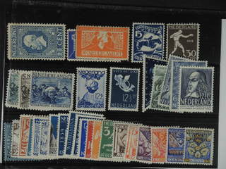 Netherlands. ★ 1913–1950. All different, e.g. Mi 87, 134-35, 211-12, 233-35, 290, 300. …