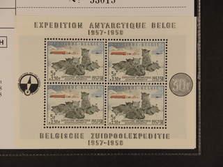 Belgium. Michel 1073 ★★ , 1957 Geophysical Year souvenir sheet 25. EUR150