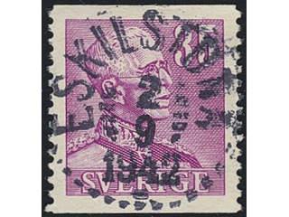 Sweden. Facit 280 used , 1941 Gustaf V large numerals 35 öre carmine-violet. EXCELLENT …