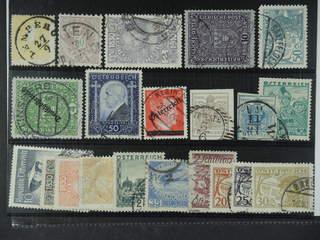 Austria. Used 1850-1951. All different, e.g. Mi 10 II, 48, 162, 203 I, 245 II, 477, 544. …