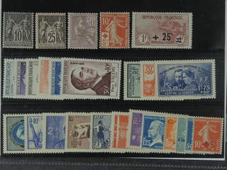 France. ★ 1876–1954. All different, e.g. Mi 72 II, 80, 95, 126, 150, and 1015-20. Mostly …