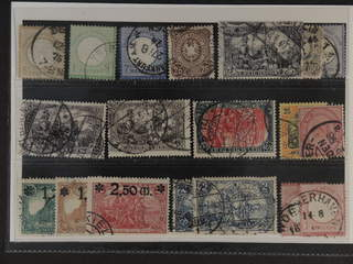 Germany Reich. Used 1872–1920. All different, e.g. Mi 22-23, 26, 35, 65, 80, 96-97, …