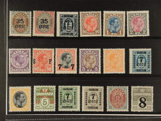 Denmark. ★★ 1895–1928. All different, e.g. F 47-48, 130, 160-62, 167, 169. Mostly good …