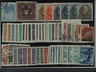 Austria. Used 1925-55. All different, e.g. Mi 477, 490 II, 512-17, 586-87, 649-57, 670, …