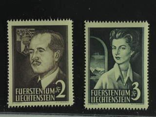 Liechtenstein. Michel 332–33 ★★ , 1955 High values SET (2). EUR260