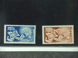 Germany Saarland. Michel 297–98 ★★ , 1950 European Council SET (2). EUR220