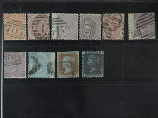 Britain. Used 1841–1867. All different, e.g. Mi 19-20, 23, 25, 28-30, and 34. Mostly …