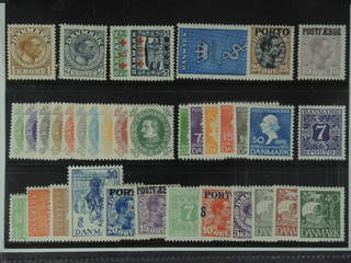 Denmark. ★ 1913-37. All different, e.g. F 165-66, 199-200, 245, 246-55, 267-72, L7, L15, …