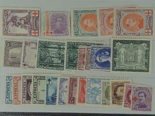 Belgium. ★ 1914-32. All different, e.g. Mi 106-12, 125, 275, 287, 304, 319-21. Mostly …