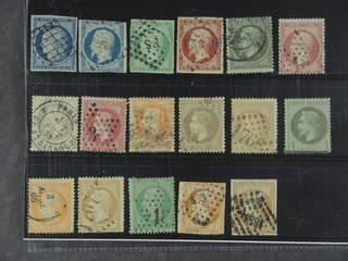 France. Used 1849–1862. All different, e.g. Mi 4, 9, 11, 16, 18, 23, 26, and 31. Mostly …