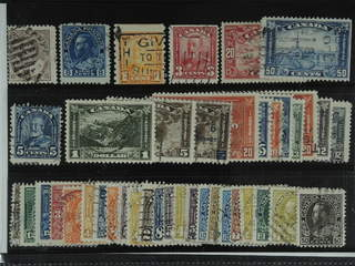 Canada. Used 1903-33. All different, e.g. Mi 81, 111, 128D, 130, 136, 148, 154-55, 157, …