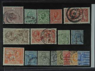 Britain. Used 1902–25. All different, e.g. Mi 115, 103B, 123-24Z, 141-2 III, 143 I …