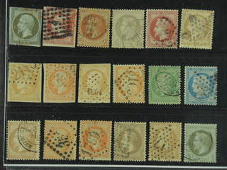 France. Used 1853–1870. All different, e.g. Mi 10, 16, 25-26, 31, 33, and 40. Mostly …