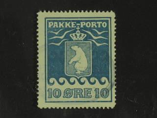 Denmark Greenland. Facit P7 used , 10 øre blue, hardly visible pmk. Good centering.
