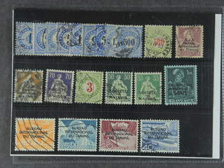 Switzerland. Used 1878-1937. Back-of-the-book, All different, e.g. Porto 1-9, 22, BIT 3, …