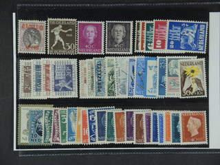 Netherlands. ★ 1919–56. All different, e.g. Mi 96, 212, 535, 537, 558-62, 597-600. …