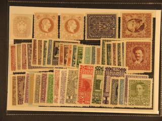 Austria. ★ 1863–1924. All different, e.g. Mi 29, 41 I+II, 203 I, 418A, 433-46. Mostly …
