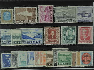 Iceland. ★★ 1902-56. All different, e.g. F 74, 230, 303, 311, 312-14, 318, 328-29, 340,. …
