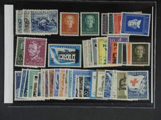 Netherlands. ★★ 1930–60. All different, e.g. Mi 233-35, 532, 538, 583-86, 639-40, 684. …