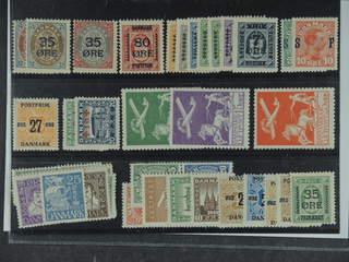 Denmark. ★ 1904–33. All different, e.g. F 47-49, 123, 124-30, 168-69, 191, 199-200, …