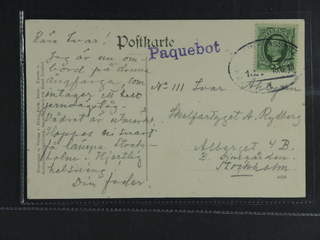 Sweden. Facit 52. GERMANY. German TPO cancellations BERLIN-SASSNITZ Z.18 18.6.10 and …