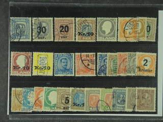 Iceland. Used 1902–22. All different, e.g. F 97, 101, 106, 107v, 111, 113, 122v, 123v, …